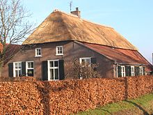 Image of an Old Dutch Farmhouse