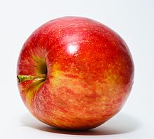 Picture of a Red Apple