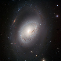 Picture of a Spiral Galaxy